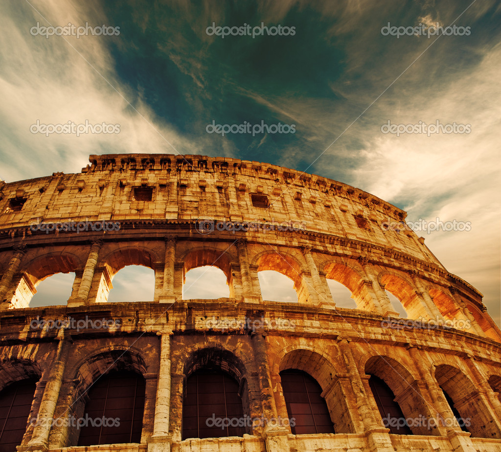 Colosseum (Rome, Italy) — Photo #2085190