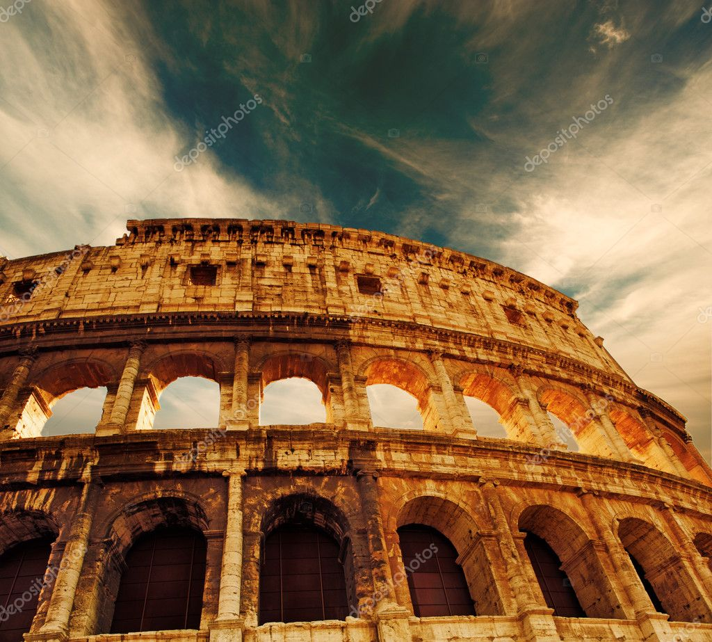 Colosseum (Rome, Italy) — Stock Photo #2085190