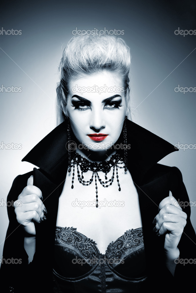 Gothic woman — Stock Photo #2087617