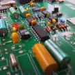 Electronic circuit board — Stock Photo #1400130