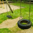 Empty seats of swing — Stock Photo