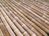 Bamboo floor — Stock Photo