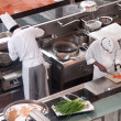 Resort chefs in singapore — 图库照片