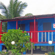 Stock Photo: Caribbestyle shack for sale