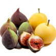 Figs and pears — Stock Photo