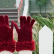 Royalty-Free Stock Photo: Santa gloves