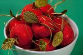 Fruit decorations — Stock Photo