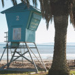 Life guard tower no. 2 — Foto de Stock