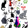 Royalty-Free Stock Vector Image: Cats