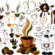 Vector de stock : Cafe menu icon