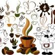 icône de menu café — Vecteur