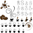 Royalty-Free Stock Vector Image: Coffee icons