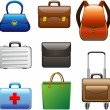 Royalty-Free Stock Vector Image: Collection Bags