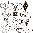 Coofee cup icons 2 — Stock Vector