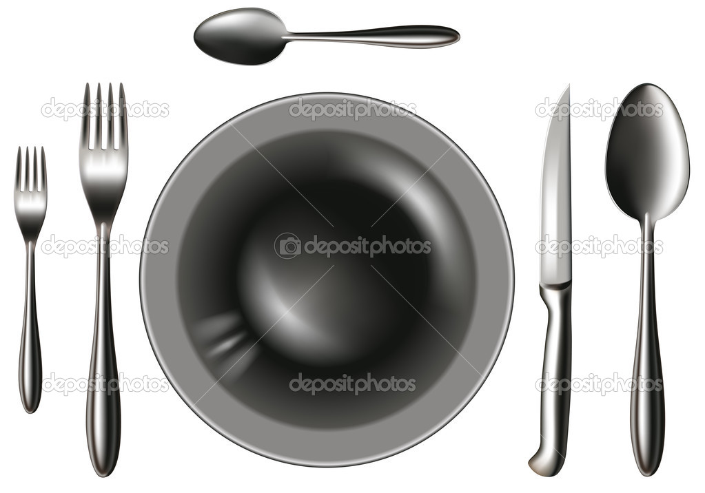 Silverware — Stock Vector #1762108