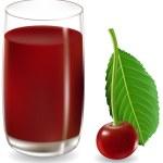 Cherry juice — Stock Vector #2282931
