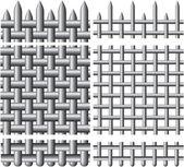 решетчатый настил — Cтоковый вектор