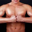 Picture of athletic torso — Stock Photo #1461806