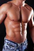 Picture of perfect muscular body — Stock Photo