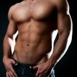 Sexy athletic body — Stock Photo