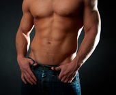 Sexy athletic torso — Stock Photo