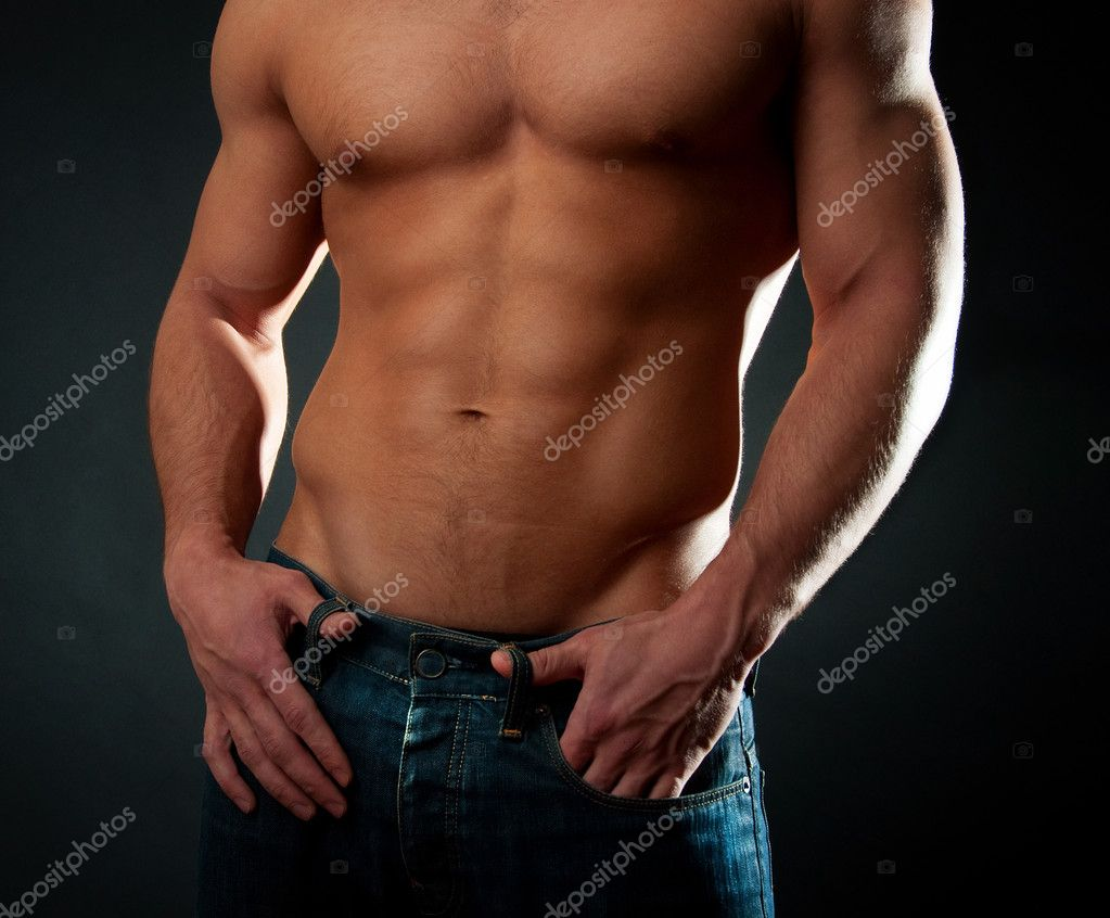 Picture of mans athletic body — Stock Photo #1538140