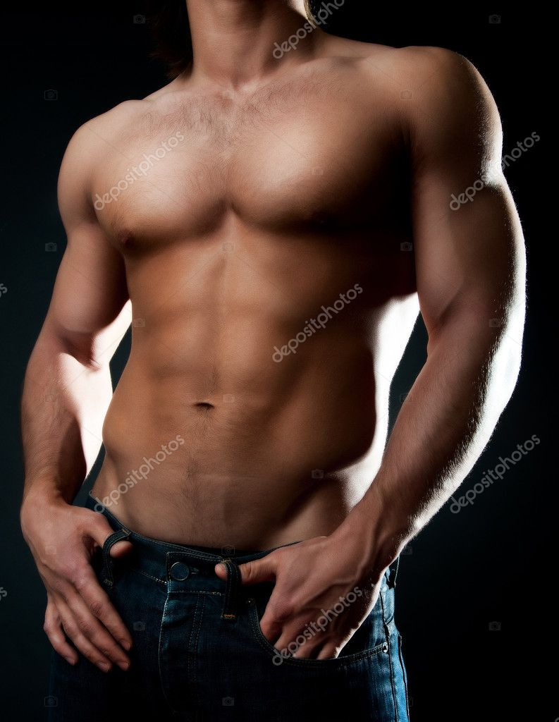 Picture of muscular males body — Stock Photo #1538155