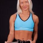 Foto de enganchar el cinturón de gimnasio — Foto de Stock