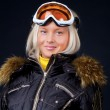 Studio shot of snowboarder — Stock Photo #2540231