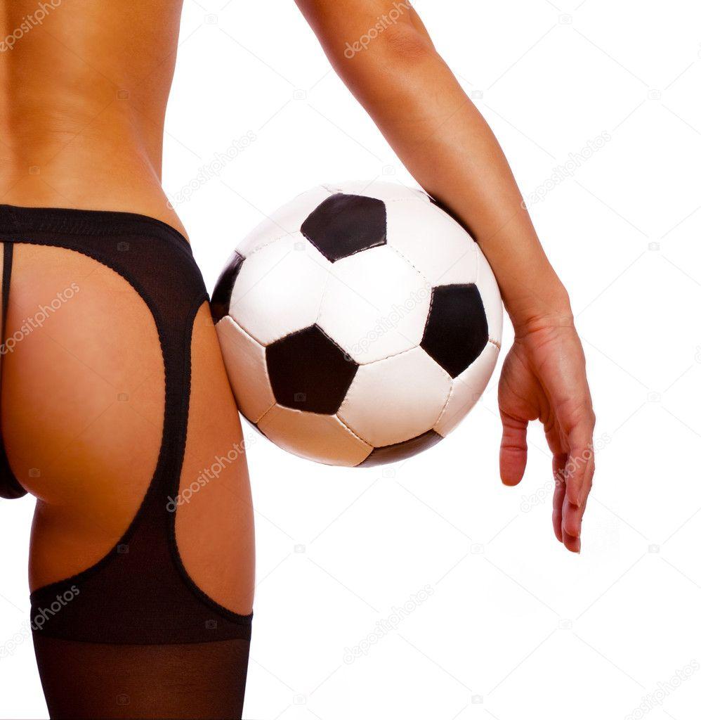 Сексуальные девушки с мячом 4 фотография