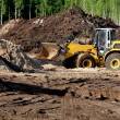 Stock Photo: Heavy Bulldozer