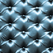 Stock Photo: Stylish dark blue silk upholstery