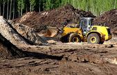Heavy Bulldozer — Stock Photo