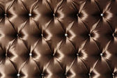 Genuine leather upholstery — Stock Photo