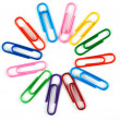Office paper clips — Stock Photo #1915357