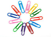 Office paper clips — Stock Photo
