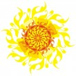 Royalty-Free Stock Vector Image: Decorative sun