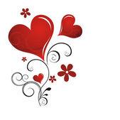 Valentinstag-karte — Stockvektor
