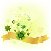 Design for the St. Patrick — Stock Photo