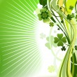 Abstract clover background — Stock Photo #1592191