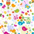Animals pattern - Stockfoto