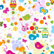 Stock Photo: Animals pattern