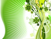 Abstract clover background — Stock Photo
