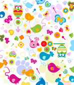 Animals pattern — Stock Photo