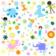 Background for kids — Stock Photo #1605300