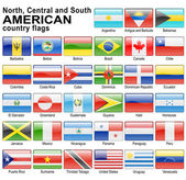 Flaga web przyciski — Zdjęcie stockowe