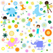 Background for kids — Stock Photo