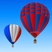 热气球 — 图库照片