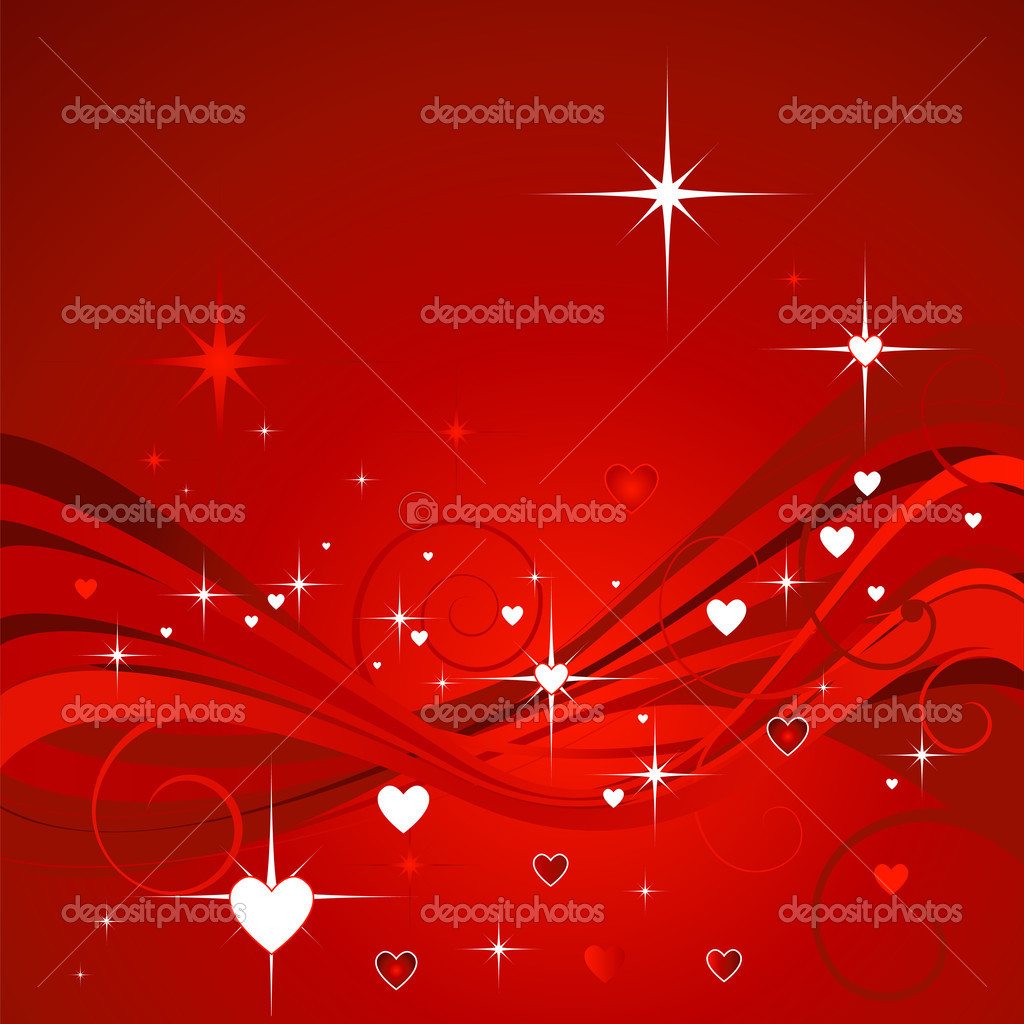 Hearts background for valentine`s day  Stock fotografie #1605252