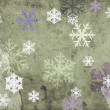 Snowflackes background - Foto de Stock  